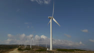 Stock Video Footage of wind turbine 3