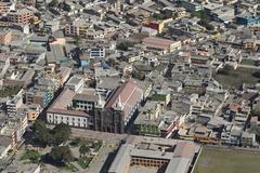 Stock Photo of Banos De Agua Santa Popular Destination In Ecuador South America The City