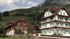 Schwyz. Cradle of Switzerland. Stock Footage