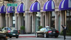 Beverly Wilshire Hotel Stock Footage