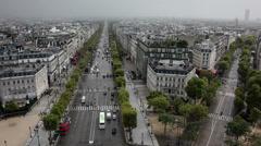 Avenue de Champs-Élysées Stock Footage