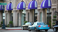 Stock Video Footage of Beverly Wilshire Hotel