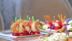 Royal Shrimps. Stock Footage