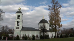 "Church of the Icon of the Mother of God ""Life-giving Spring"" Stock Footage"
