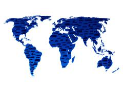 Transpor maailmankartalle Piirros