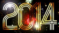 2014 Numeric New year 41 - stock footage