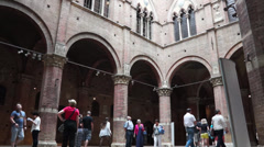 Torre del Mangia in Siena Italy (9 of 10) Stock Footage