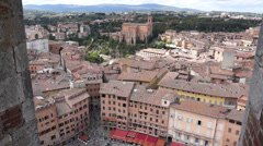 Views of Siena Italy (8 of 8) Stock Footage