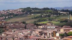 Views of Siena Italy (4 of 8) Stock Footage