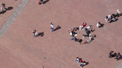 Piazza del Campo in Siena Italy (2 of 16) Stock Footage