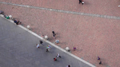 Piazza del Campo in Siena Italy (14 of 16) Stock Footage