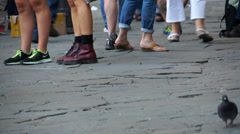 Walking in Florence (4 of 13) Stock Footage