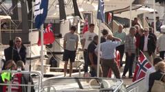 Southampton Boatshow Stock Footage