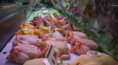 Food Market in Florence (12 of 15) Stock Footage