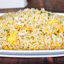 Stock Photo of crab fried rice 2