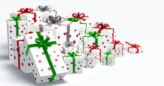 Gift Boxes - stock illustration