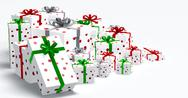 Stock Illustration of Gift Boxes