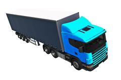 .Cargo Delivery Vehicle Stock Illustration