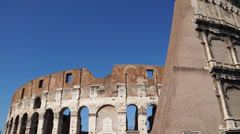 Views of the Colosseum (12 of 49) Stock Footage