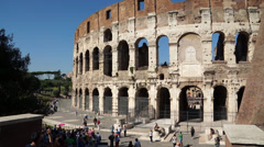 Views of the Colosseum (11 of 49) Stock Footage