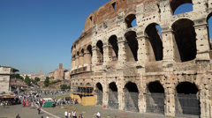 Views of the Colosseum (9 of 49) Stock Footage