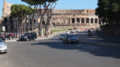 Views of the Colosseum (3 of 49) Stock Footage