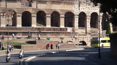 Views of the Colosseum (8 of 49) Stock Footage