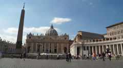 Scenes of  the Vatican in Rome (6 of 16) - stock footage