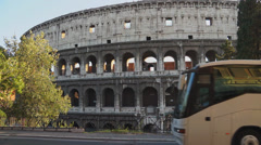Views of the Colosseum (7 of 49) Stock Footage