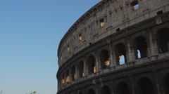 Views of the Colosseum (48 of 49) Stock Footage