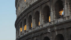 Views of the Colosseum (46 of 49) Stock Footage
