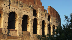 Views of the Colosseum (41 of 49) Stock Footage