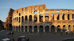 Views of the Colosseum (39 of 49) Stock Footage