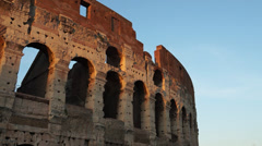 Views of the Colosseum (32 of 49) Stock Footage