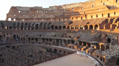 Views of the Colosseum (30 of 49) Stock Footage