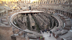 Views of the Colosseum (28 of 49) Stock Footage