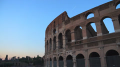 Views of the Colosseum (2 of 49) Stock Footage