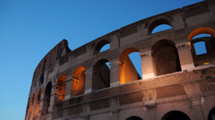 Views of the Colosseum (16 of 49) Stock Footage