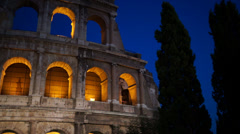 Views of the Colosseum (27 of 49) Stock Footage