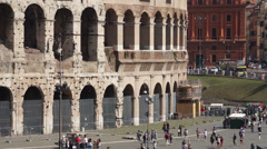 Views of the Colosseum (24 of 49) Stock Footage