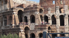 Views of the Colosseum (22 of 49) Stock Footage