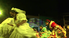 Stock Video Footage of Low angle view of traditional dance in Fortaleza, Ceara, Brazil