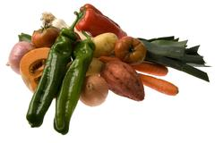 group of vegetables - stock photo
