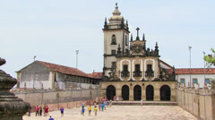 Santo Antonio da Paraiba convent, Joao Pessoa, Paraiba, Brazil Stock Footage