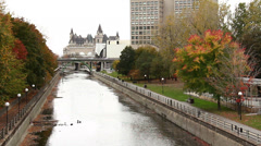 Rideau Canal 1 Stock Footage