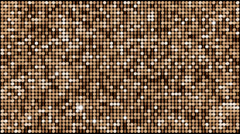 Brown glitter light background – seamless looping Stock Footage