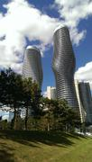 Worlds Building of the Year: The Absolute Towers Mississauga Stock Photos