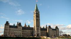 Ottawa Parliament Building - stock photo