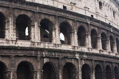 The coliseum, rome Stock Photos