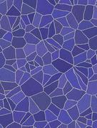 Blue and purple rustic mosaic tile pattern Stock Illustration